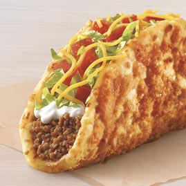 Review Taco Bell S New Toasted Cheddar Chalupa Elevating Experiences